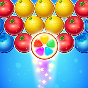 Orange Bubble Shooter