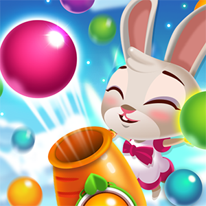 Bunny Pop Easter Bubble Shooter